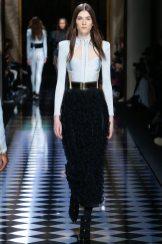 Irina Djuranovic - Balmain Fall 2016 Ready-to-Wear