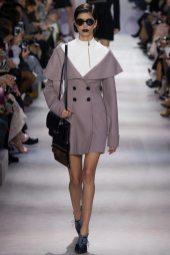 Mica Arganaraz - Christian Dior Fall 2016 Ready-to-Wear