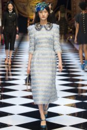 Wangy Xinyu - Dolce & Gabbana Fall 2016 Ready-to-Wear