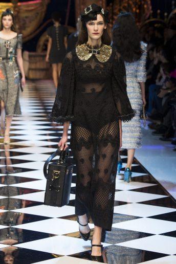Fia Ljungstrom - Dolce & Gabbana Fall 2016 Ready-to-Wear