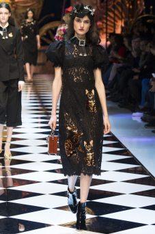 Blanca Padilla - Dolce & Gabbana Fall 2016 Ready-to-Wear