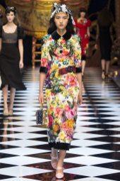 Luping Wang - Dolce & Gabbana Fall 2016 Ready-to-Wear