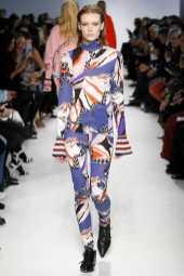 Julia Hafstrom - Emilio Pucci Fall 2016 Ready-to-Wear