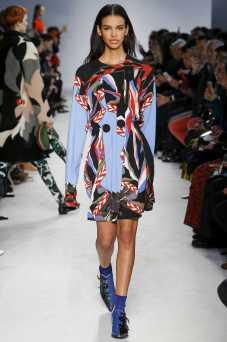 Austria Ulloa - Emilio Pucci Fall 2016 Ready-to-Wear