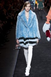 Odette Pavlova - Fendi Fall 2016 Ready-to-Wear