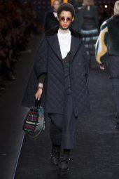 Lineisy Montero - Fendi Fall 2016 Ready-to-Wear