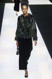 Herieth Paul - Giorgio Armani Fall 2016 Ready-to-Wear