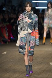 Charlee Fraser - Missoni Fall 2016 Ready-to-Wear