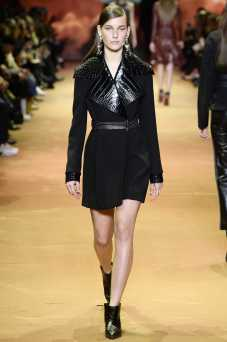 Julia Bergshoeff - Mugler Fall 2016 Ready-to-Wear