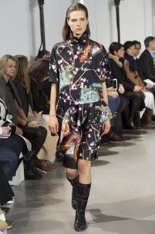 Caroline Brasch Nielsen - Paco Rabanne Fall 2016 Ready-to-Wear