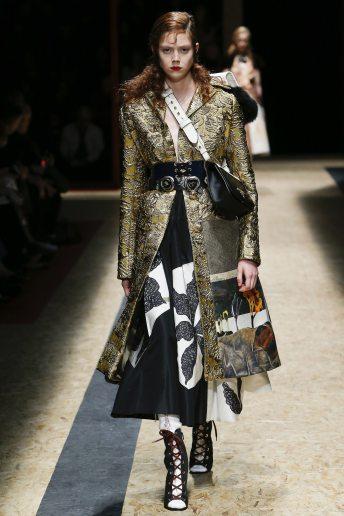 Natalie Westling - Prada Fall 2016 Ready-to-Wear