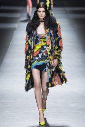 Katlin Aas - Versace Fall 2016 Ready-to-Wear