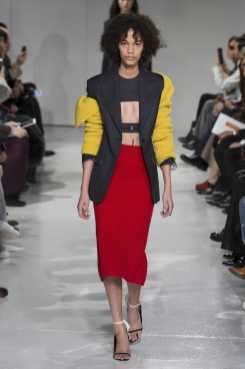 Shelby Hayes - Calvin Klein Fall 2017 Ready-to-Wear
