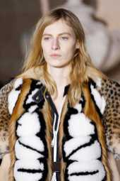 Julia Nobis - Louis Vuitton Fall 2017 Ready-to-Wear