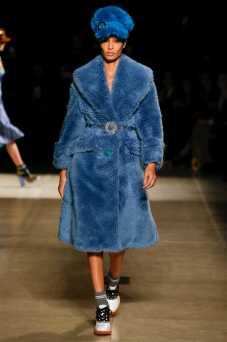 Joan Smalls - Miu Miu Fall 2017 Ready-to-Wear
