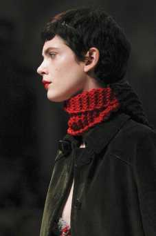Amandine Renard - Prada Fall 2017 Ready-to-Wear