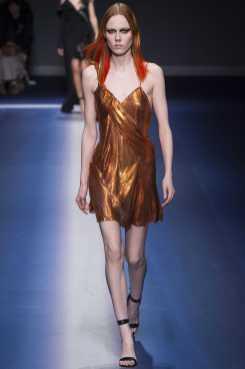 Kiki Willems - Versace Fall 2017 Ready-to-Wear