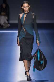 Binx Walton - Versace Fall 2017 Ready-to-Wear