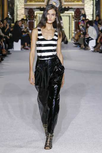 Blanca Padilla - Balmain - Spring 2018 Ready-to-Wear