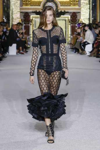 Luna Bijl - Balmain - Spring 2018 Ready-to-Wear