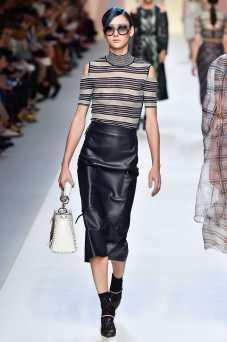 Justine Asset - Fendi Spring 2018 Ready-to-Wear