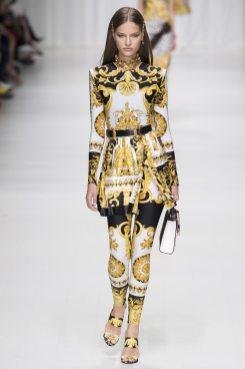 Faretta - Versace Spring 2018 Ready-to-Wear