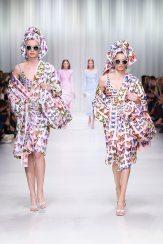 Linda Helena - Giulia Maenza - Versace Spring 2018 Ready-to-Wear