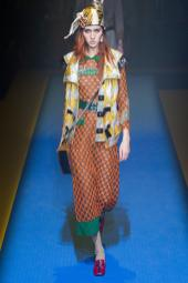 Teddy Quinlivan - Gucci Spring 2018 Ready-to-Wear