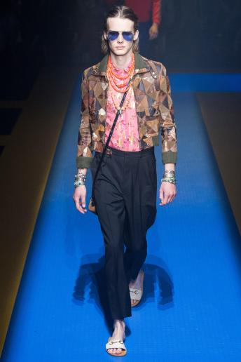 Martin Lind - Gucci Spring 2018 Ready-to-Wear
