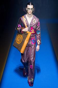 Mathieu Perrais - Gucci Spring 2018 Ready-to-Wear