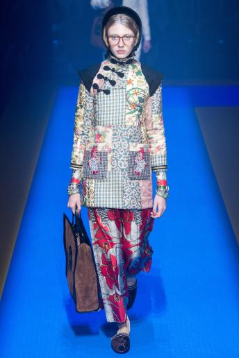 Maryna Polkanova - Gucci Spring 2018 Ready-to-Wear