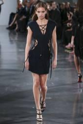 Nina Marker - Mugler Spring 2018 Ready-to-Wear