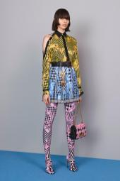 Charlee Fraser - Versace Pre-Fall 2018