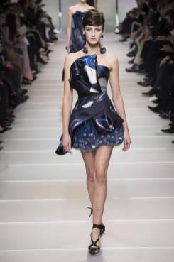 Cristina Herrmann - Armani Privé Spring 2018 Couture