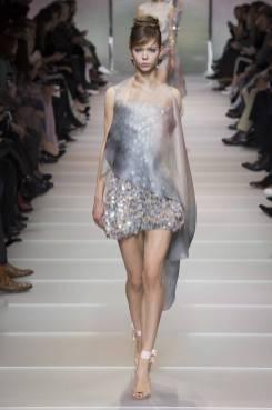 Polina Pototskaja - Armani Privé Spring 2018 Couture