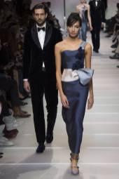 Lauren Borgers - Armani Privé Spring 2018 Couture