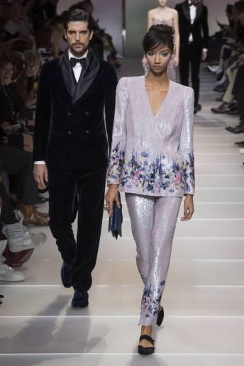 Aiden Curtiss - Armani Privé Spring 2018 Couture