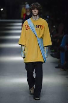 Serge Sergeev - Burberry Spring 2018 Ready-to-Wear