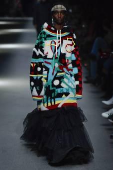 Shanniel Williams - Burberry Spring 2018 Ready-to-Wear