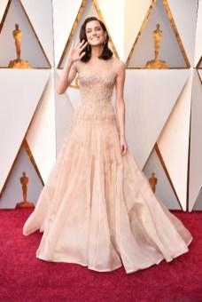 Allison Williams - Elbise: Armani Privé Couture, Ayakkabı: Brian Atwood