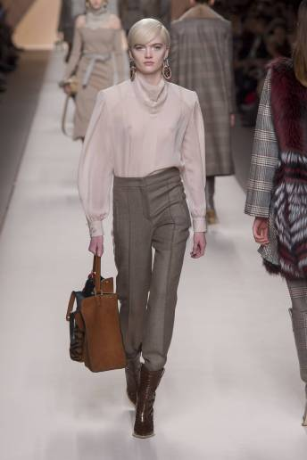 Ruth Bell - Fendi Fall 2018 Ready-to-Wear
