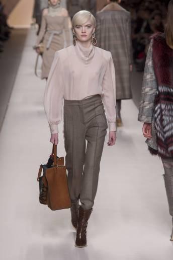 Ruth Bell - Fendi Fall 2018 Ready-to-Wear