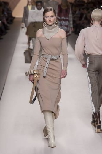 Felice Noordhoff - Fendi Fall 2018 Ready-to-Wear