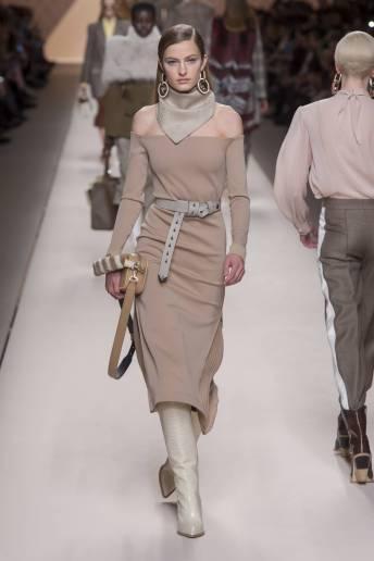 Felice Noordhoff - Fendi Fall 2018 Ready-to-Wear
