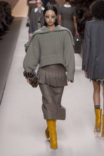 Heejung Park - Fendi Fall 2018 Ready-to-Wear
