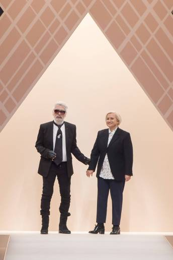 Karl Lagerfeld - Silvia Venturi Fendi - Fendi Fall 2018 Ready-to-Wear