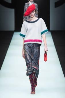 Liz Bakro - Giorgio Armani Fall 2018 Ready-to-Wear
