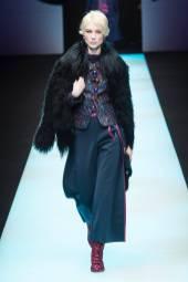 Ieva Seskute - Giorgio Armani Fall 2018 Ready-to-Wear