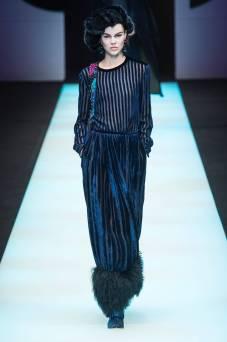 Ruby Jean Wilson - Giorgio Armani Fall 2018 Ready-to-Wear