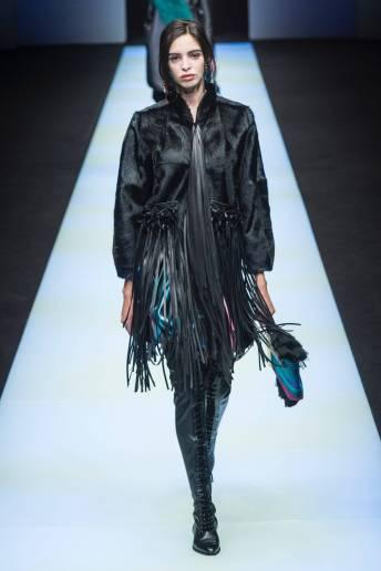 Sofia E - Giorgio Armani Fall 2018 Ready-to-Wear